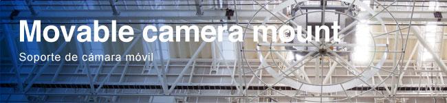 Soporte de cámara móvil